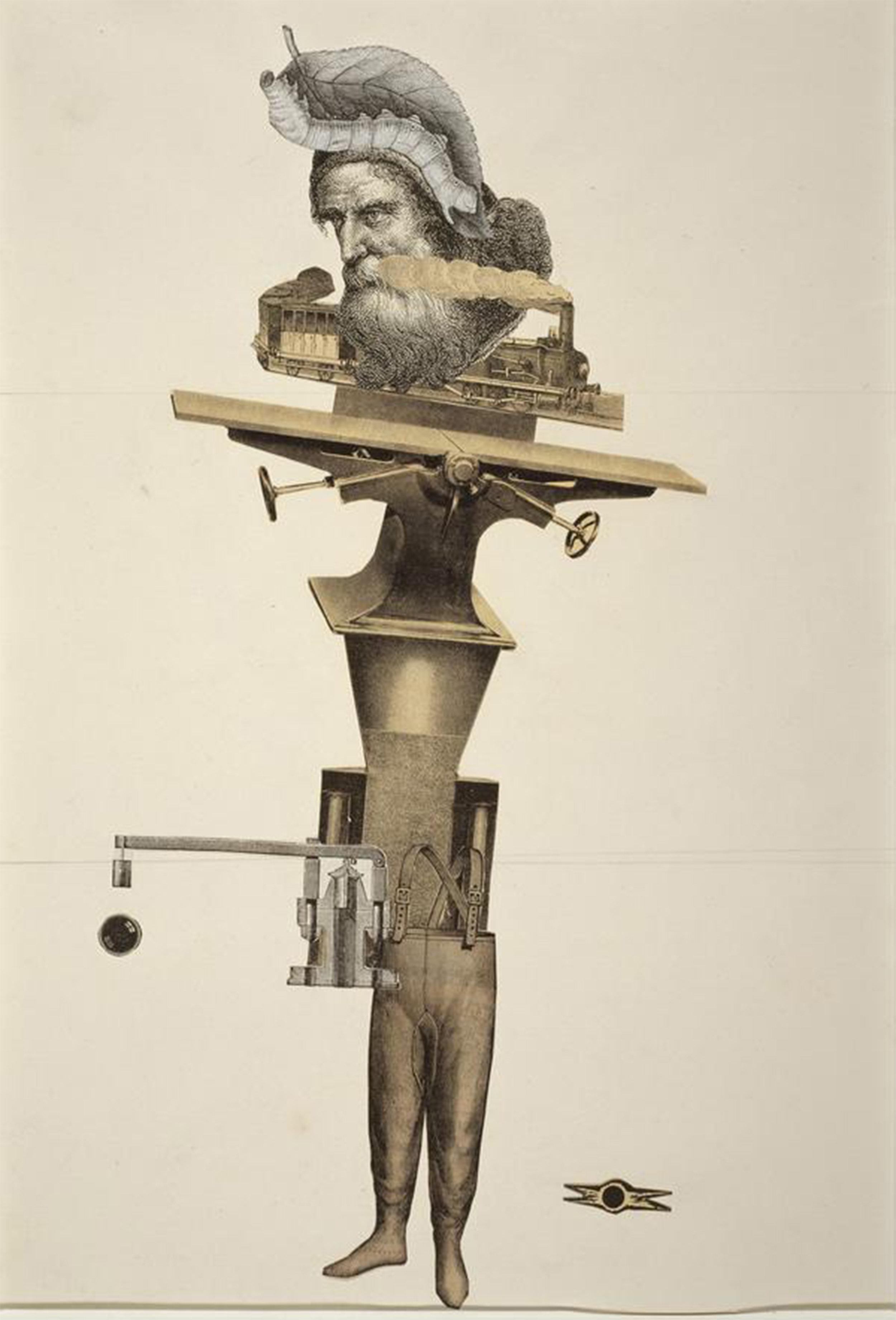 Exquisite corpse by Andre Breton et al: Main à Plume or origins of the alt-right?