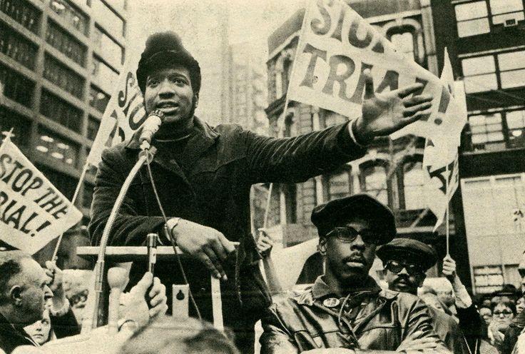 Slain Black Panther leader Fred Hampton.