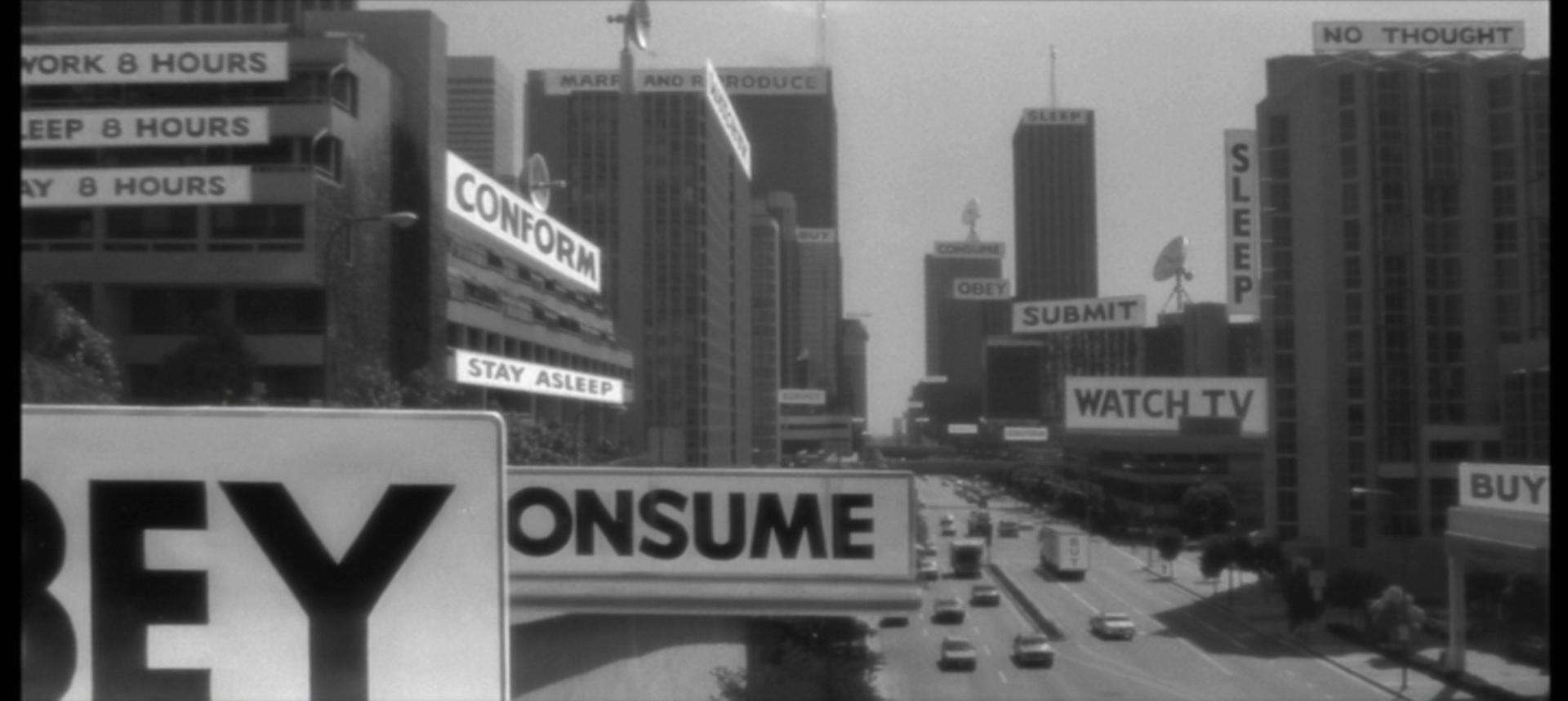 Still from John Carpenter's  They Live .
