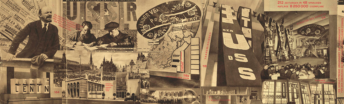 Lissitzky and Senkin's photomontage.