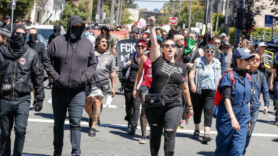 Antifa in Berkeley (2018)