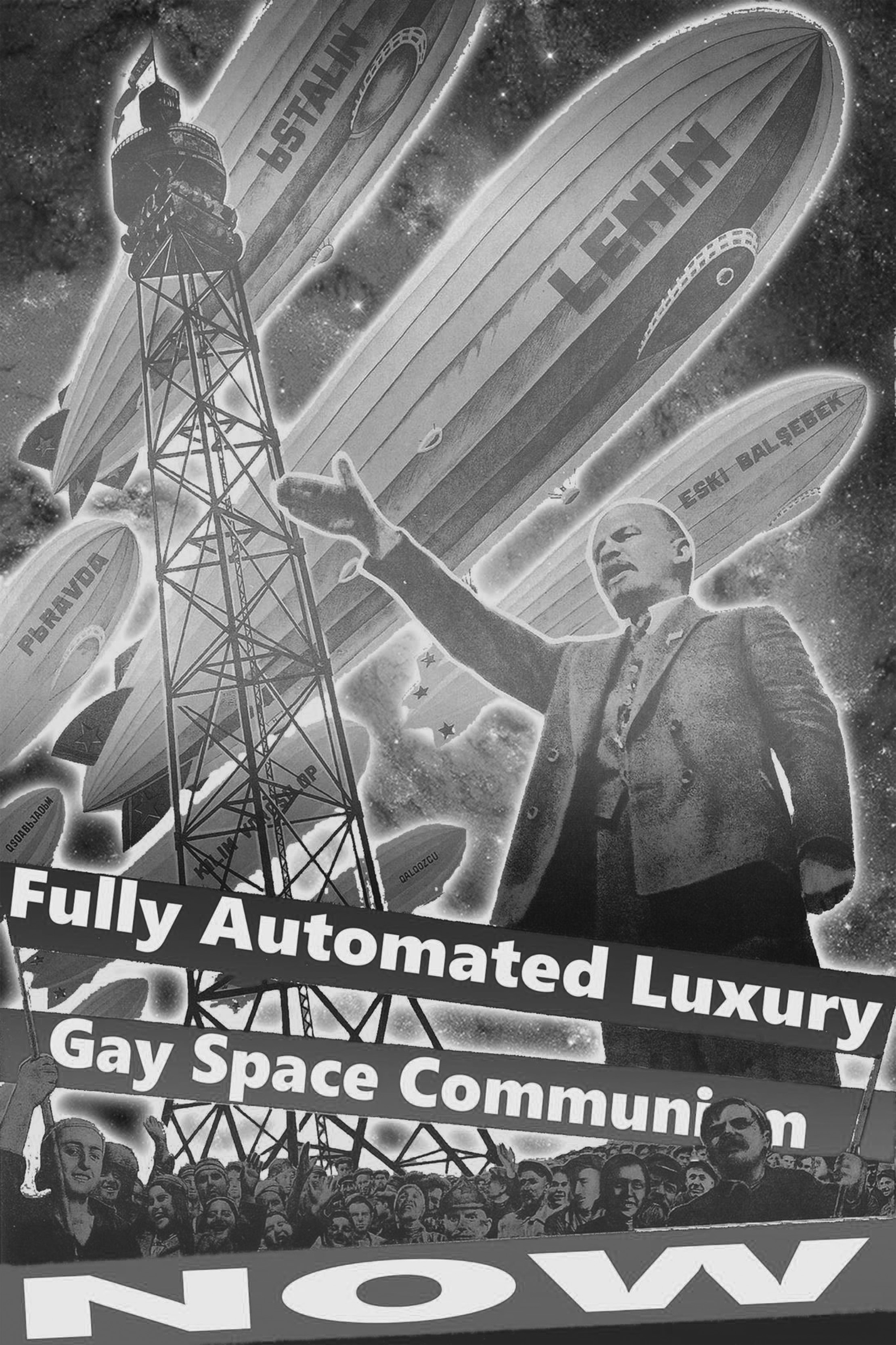 Fully Automated Luxury Gay Space Communism meme