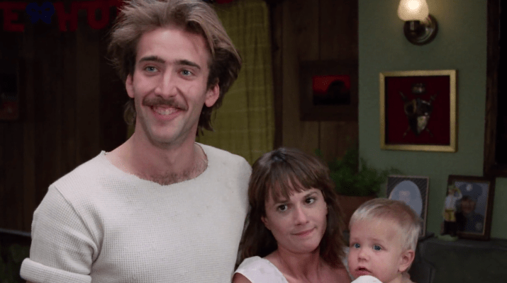 In  Raising Arizona , the  Ur-Cage
