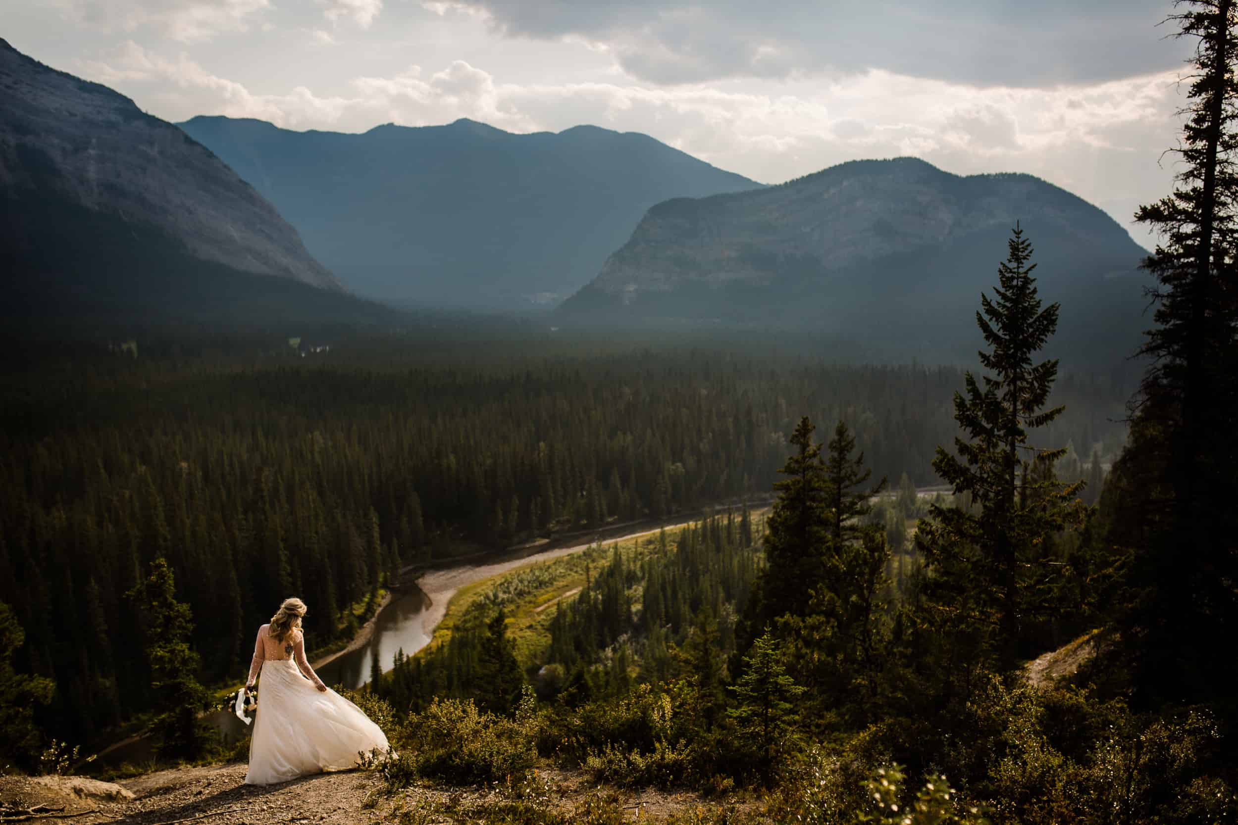 Bridal Portrait Banff National Park