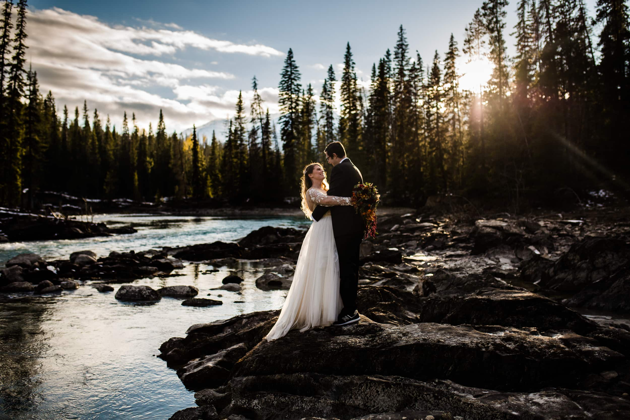 Lake Louise Elopement Photographer