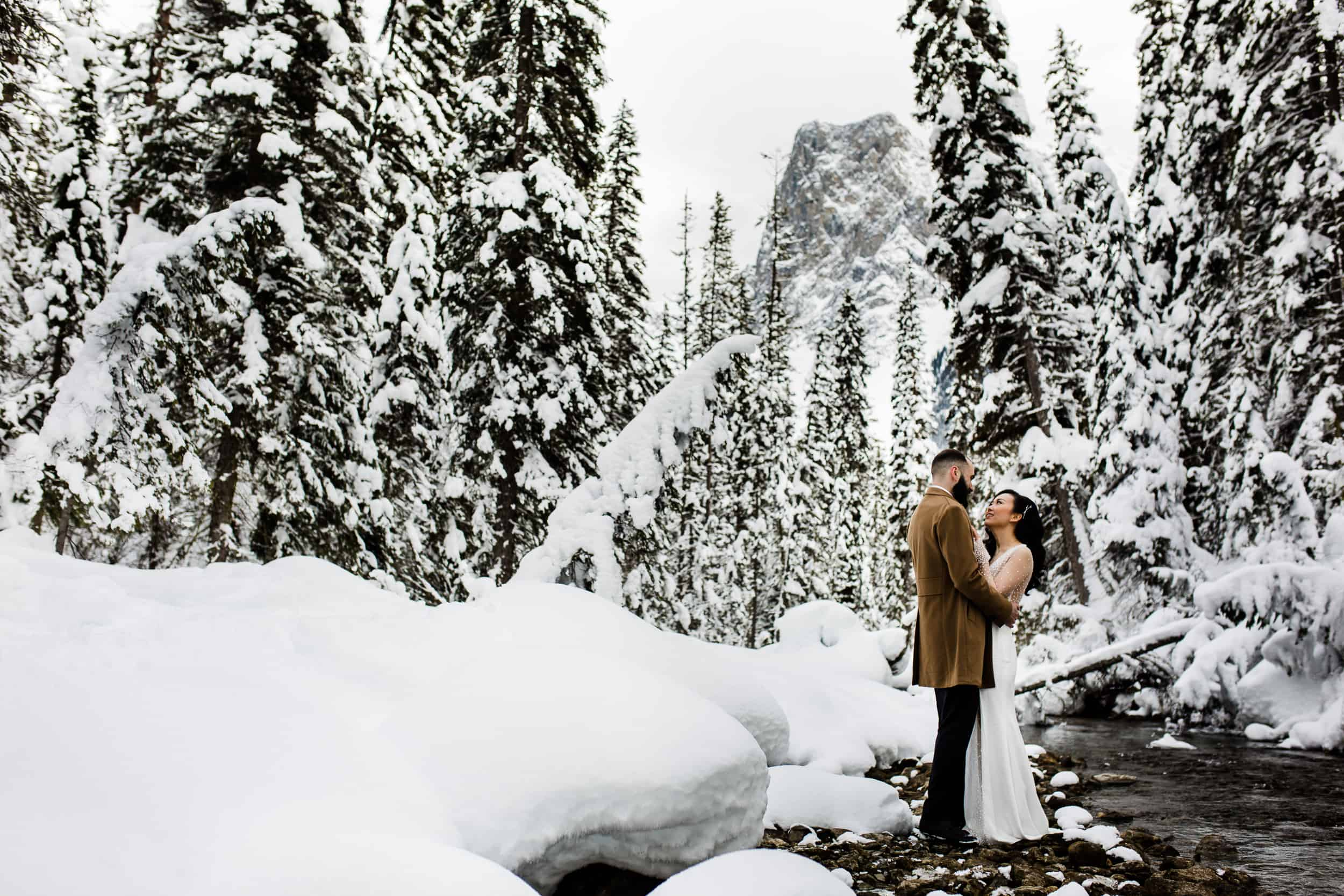 Winter Weddings Emerald Lake Lodge