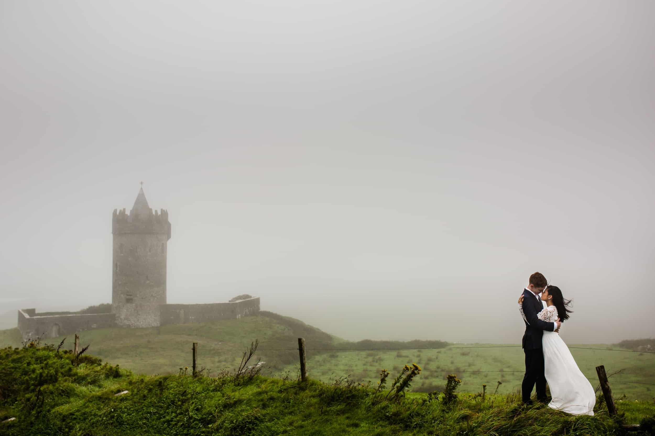 Destination Wedding in Ireland-Castles in the mist