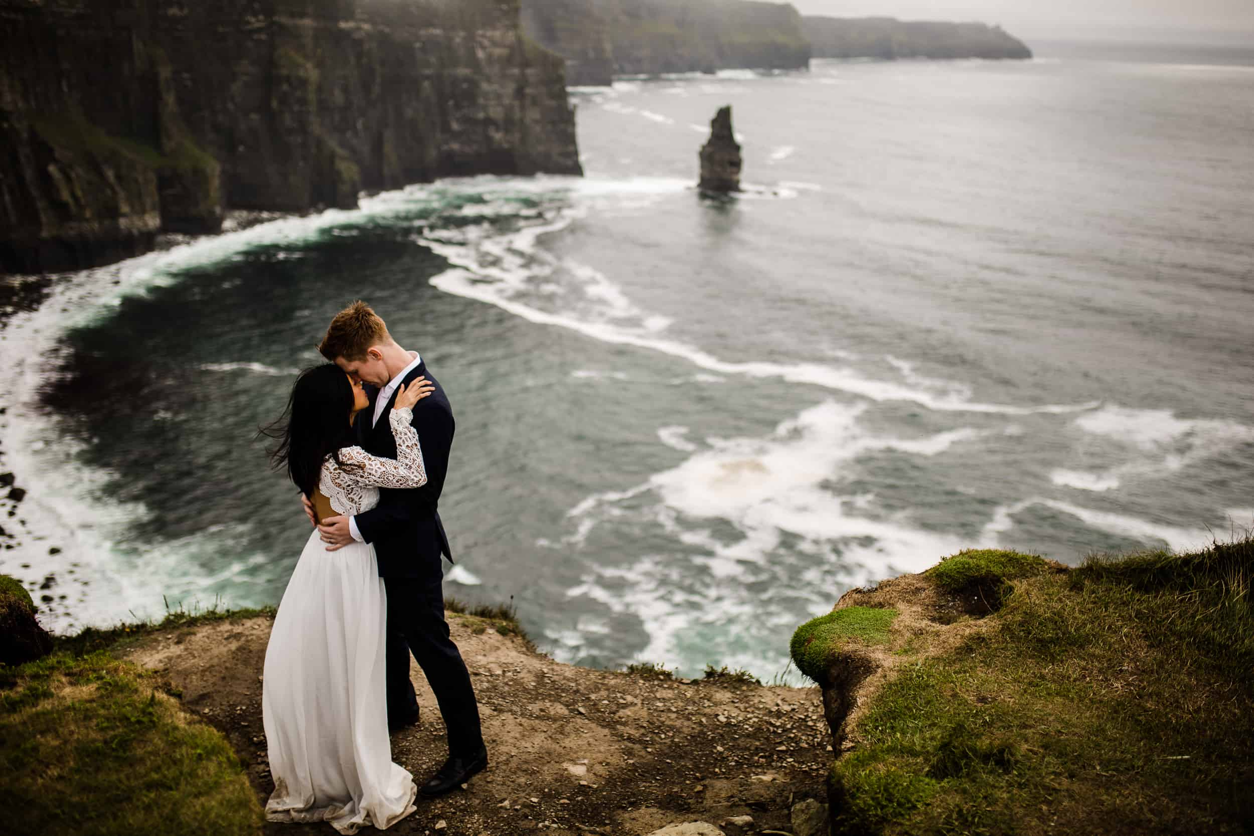 Destination Wedding Ireland Cliffs of Moher