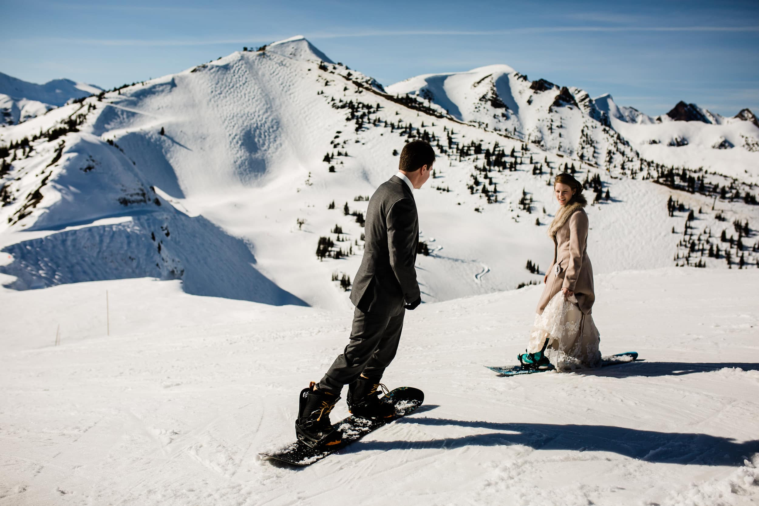 Adventure Wedding at Kicking Horse Mountain Resort