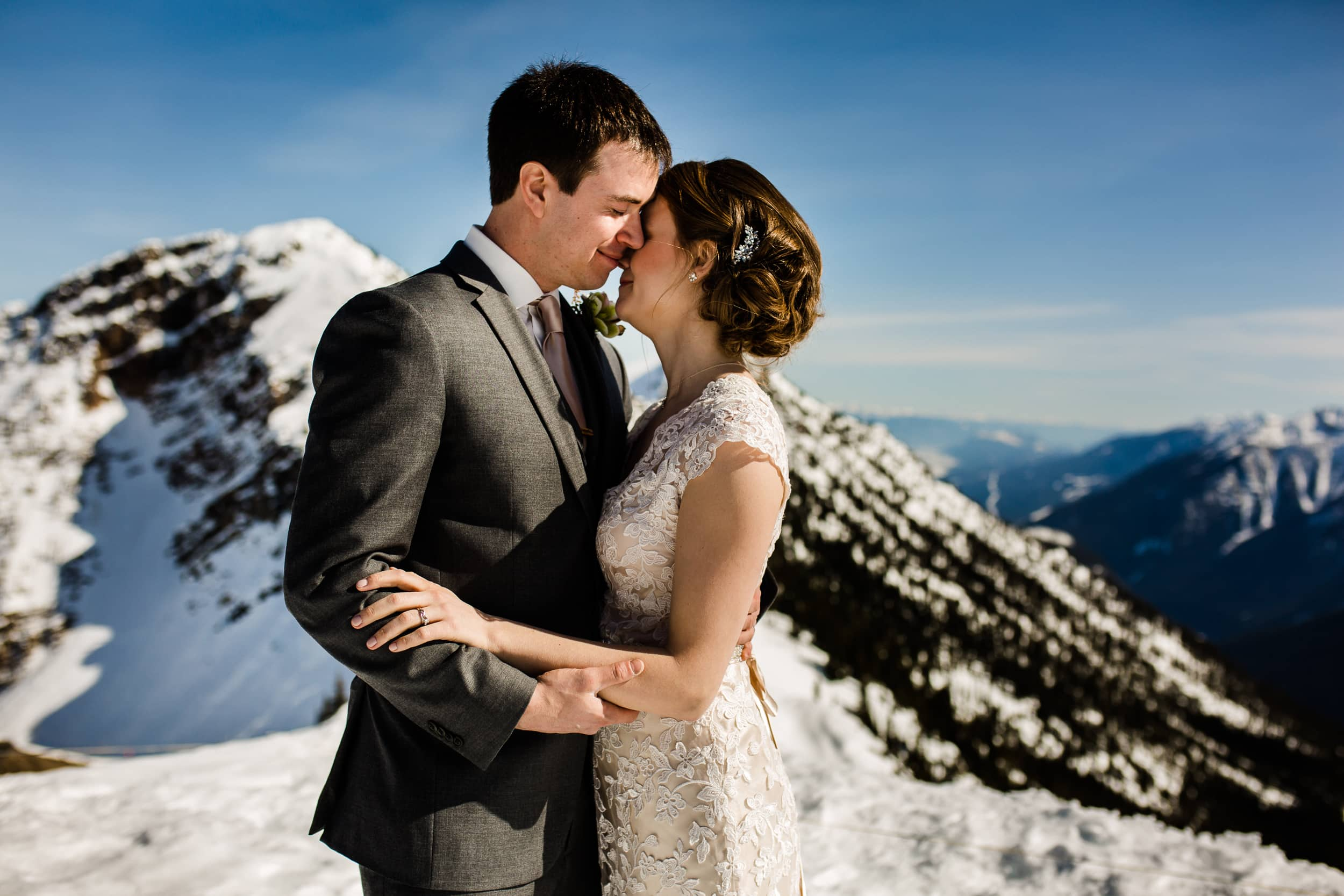 Kicking Horse Mountain Resort Wedding
