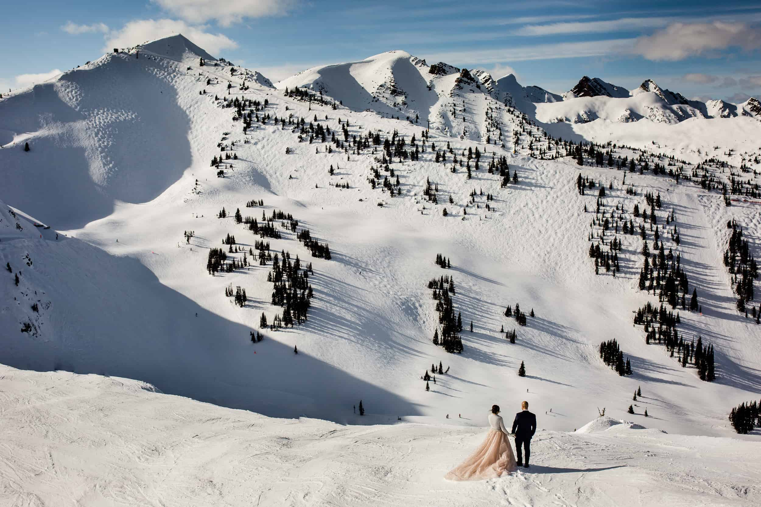 Winter Weddings at Kicking Horse Mountain Resort