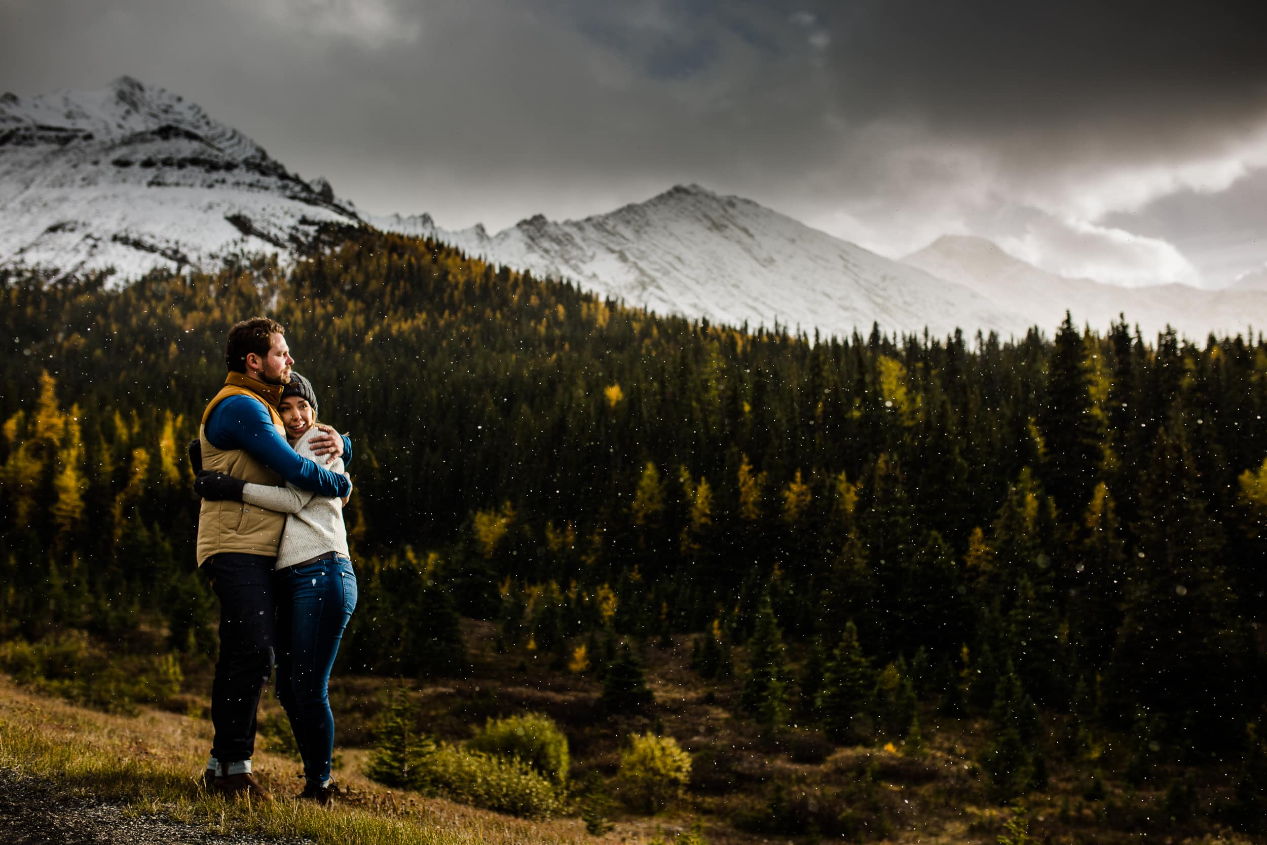 Fall Engagement Photography in the Rocky Mountains