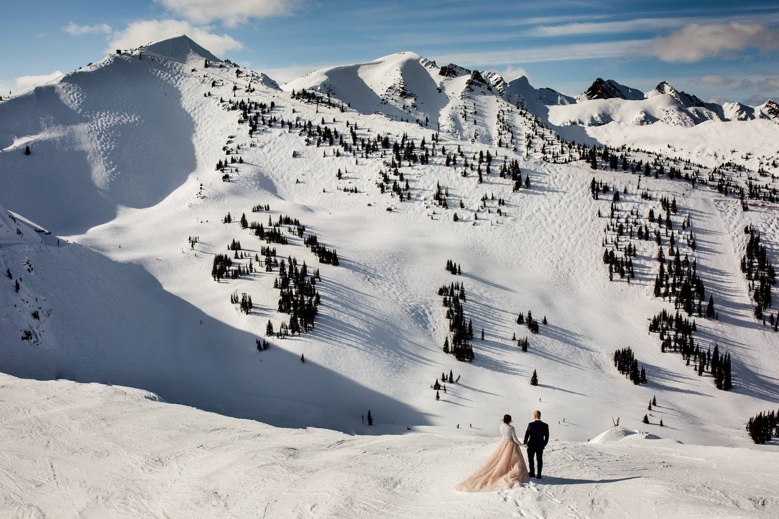 Winter Weddings Kicking Horse Mountain Resort