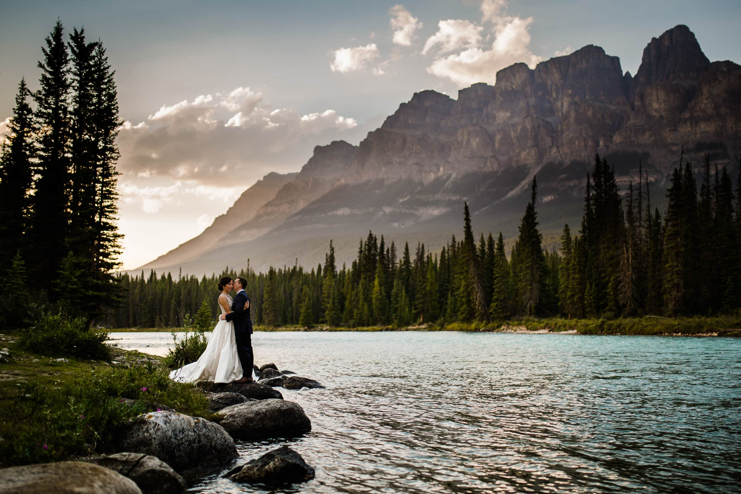 Honeymoon Photography - Come before, or after your wedding to have a one on one bride/groom portrait session without the pressures of a wedding day. We take our time, and enjoy the mountains in a very romantic fashion to celebrate this special time in your lives.Click on photo to see full gallery.