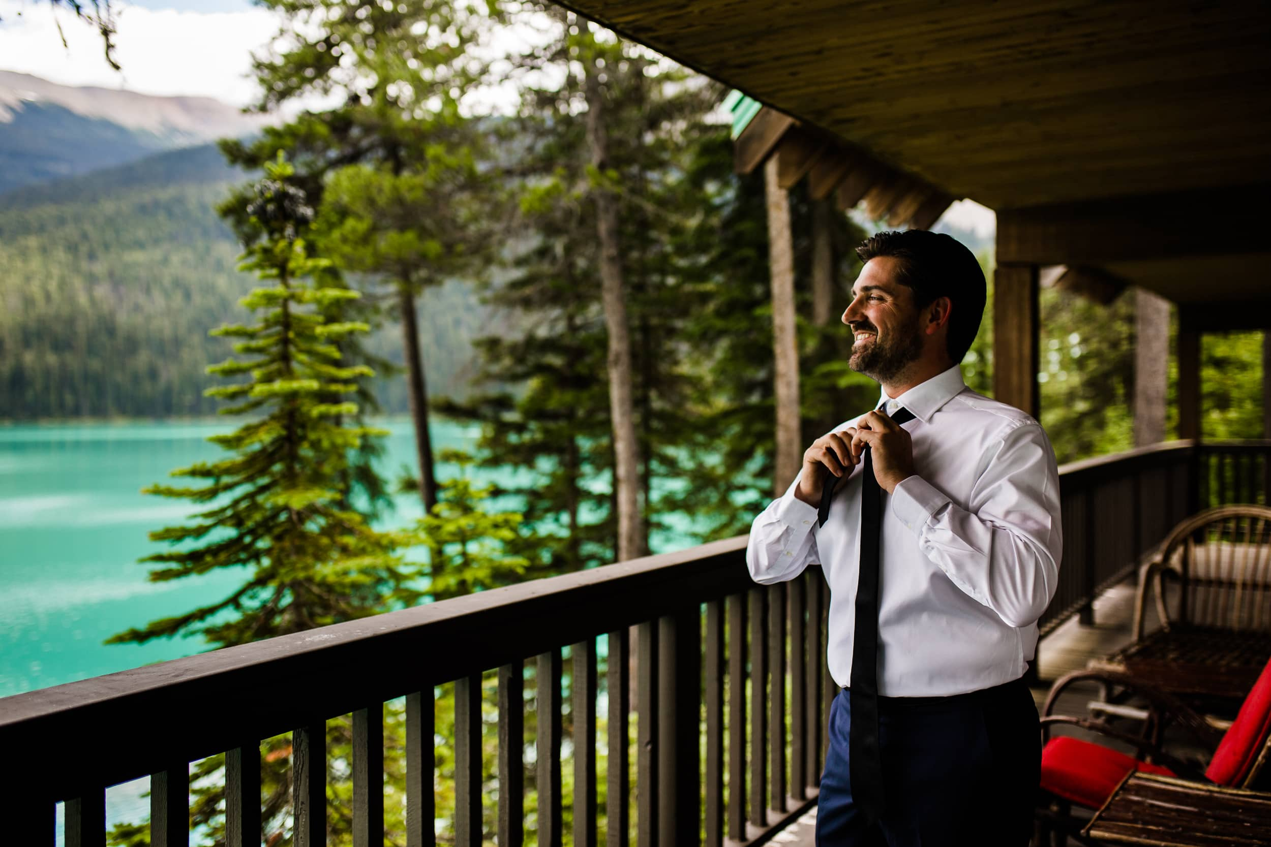 Emerald Lake Lodge Elopement Photographer