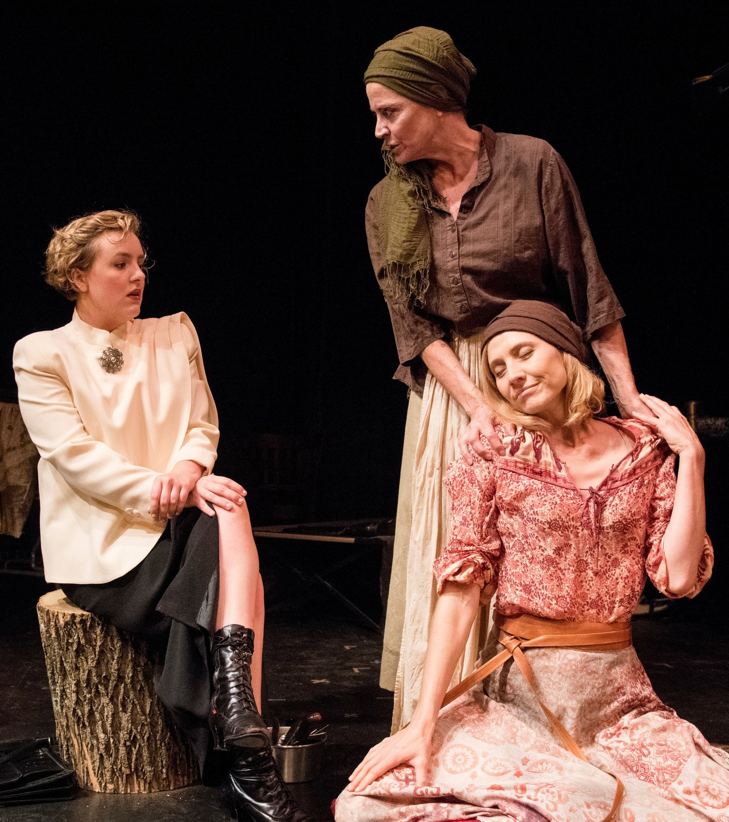 "Kathleen Wise, Marianne Tatum and Eliza Renner in ""The Possibilities"""