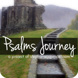 Psalms Journey, a project of stephaniejspencer.com