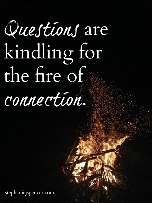 questions are kindling