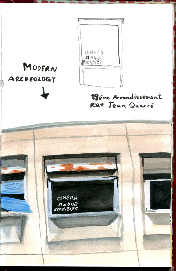 Drawing From Life: Modern Archeology