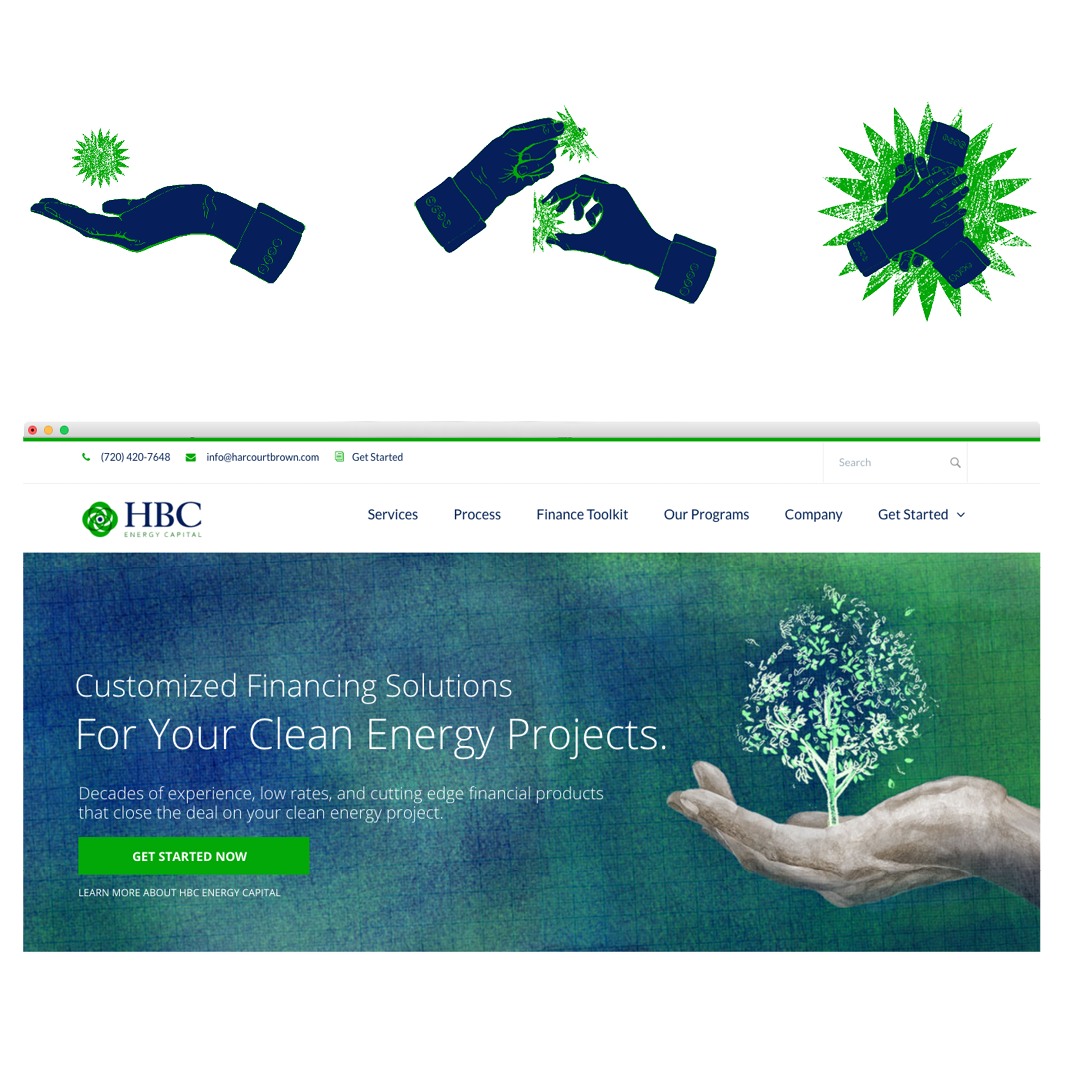 Brand illustration HBC Energy Capital