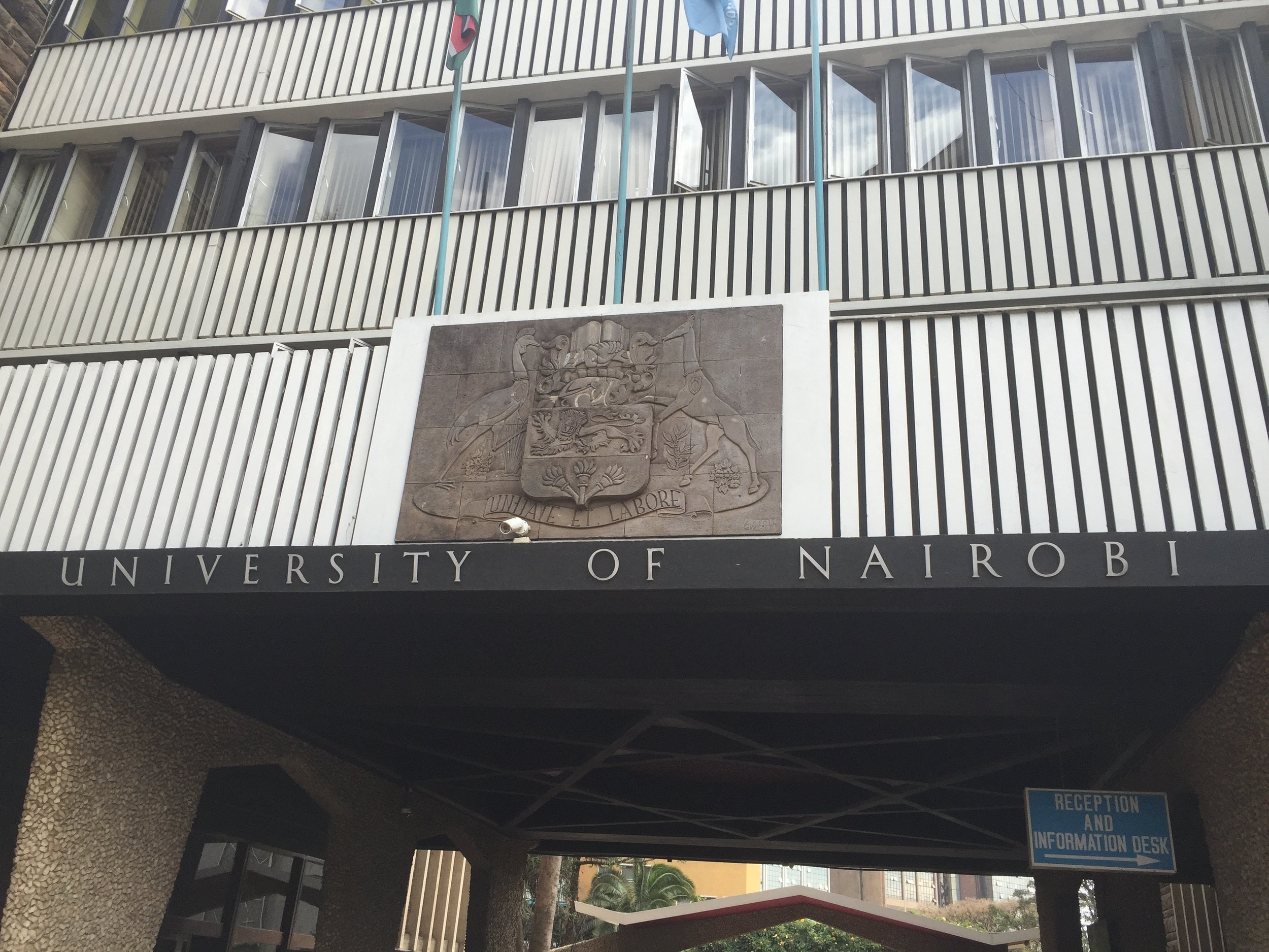 Meetings were held at the University of Nairobi to assess potential partnerships with some of their ag. students.