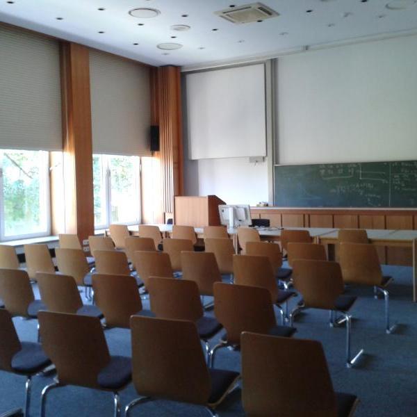 Seminar Room at MPI, Plon, Germany