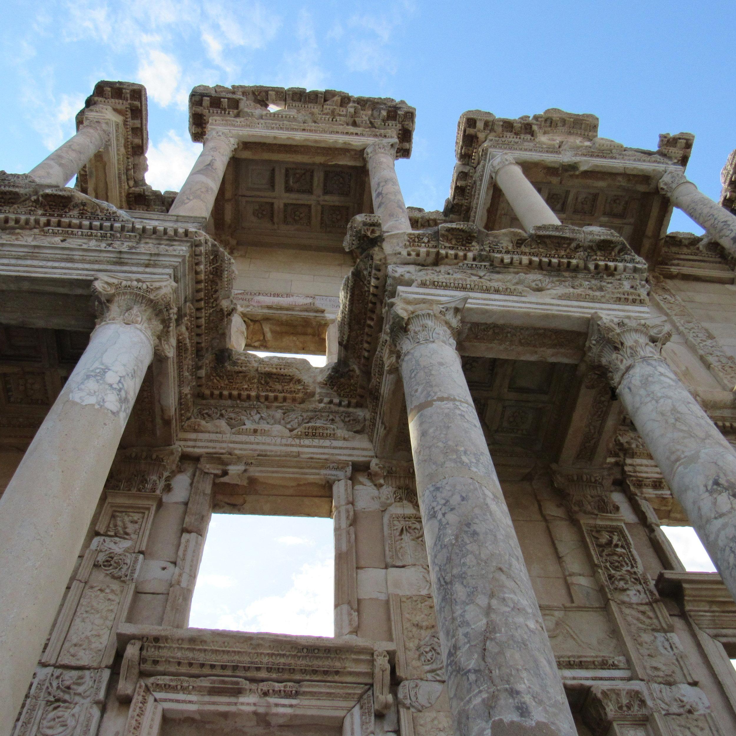 Library of Celsus in Ephesus, Turkey.