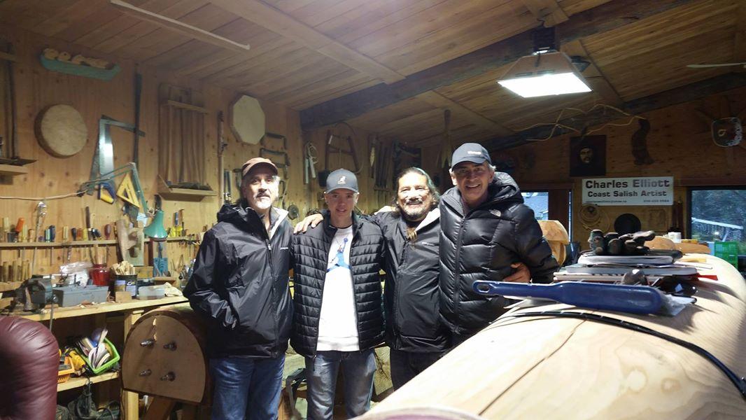 Ray Ward, Chaz Elliot, Mati Waiya and Scott Scoggins