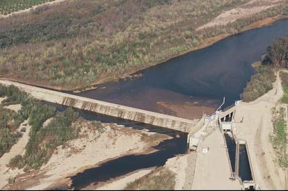 United's Vern Freeman Diversion Dam AT River Mile 10.5