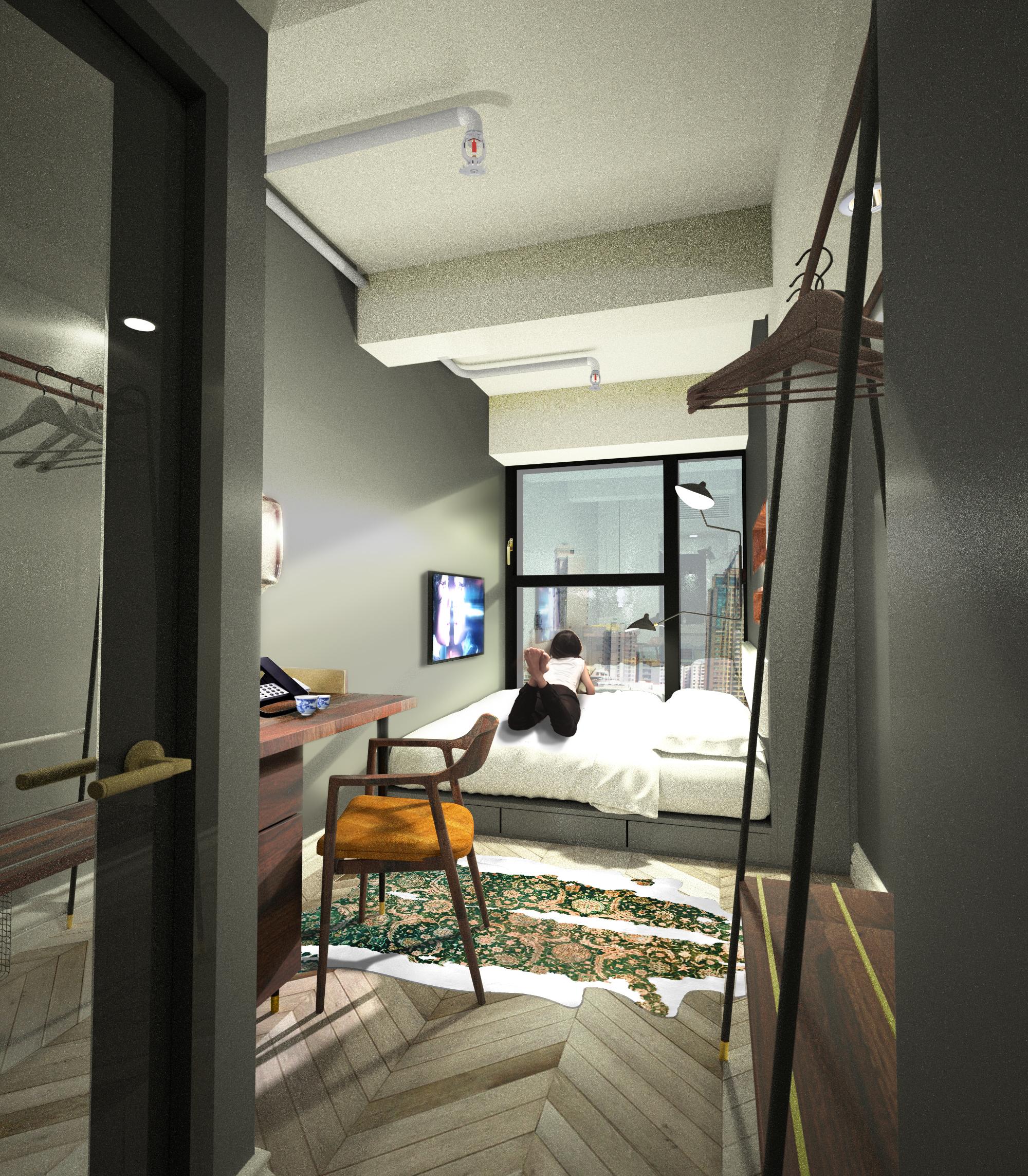 Tribute Hotel - Spawton Architecture