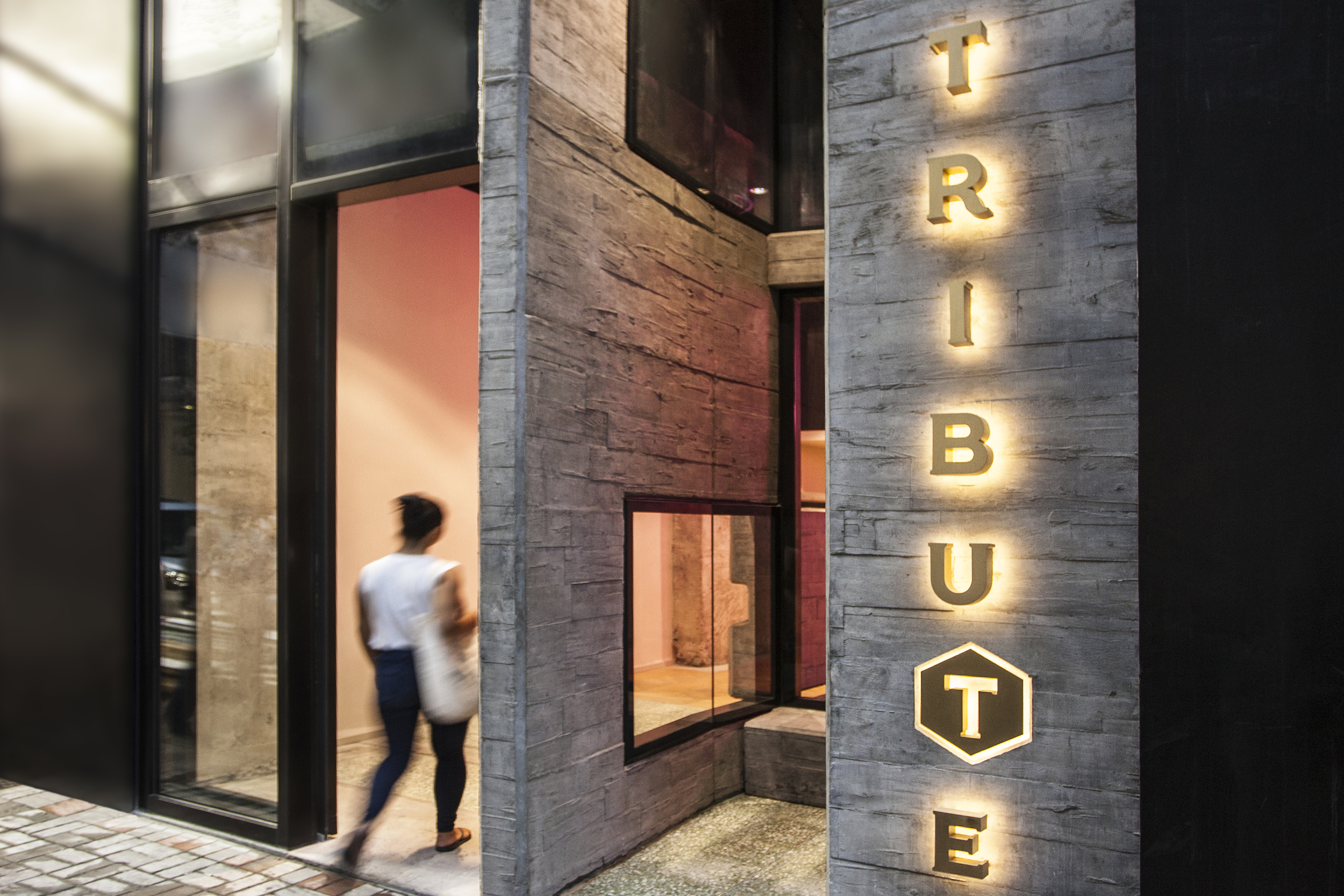 Tribute Hotel Hong Kong - Spawton Architecture