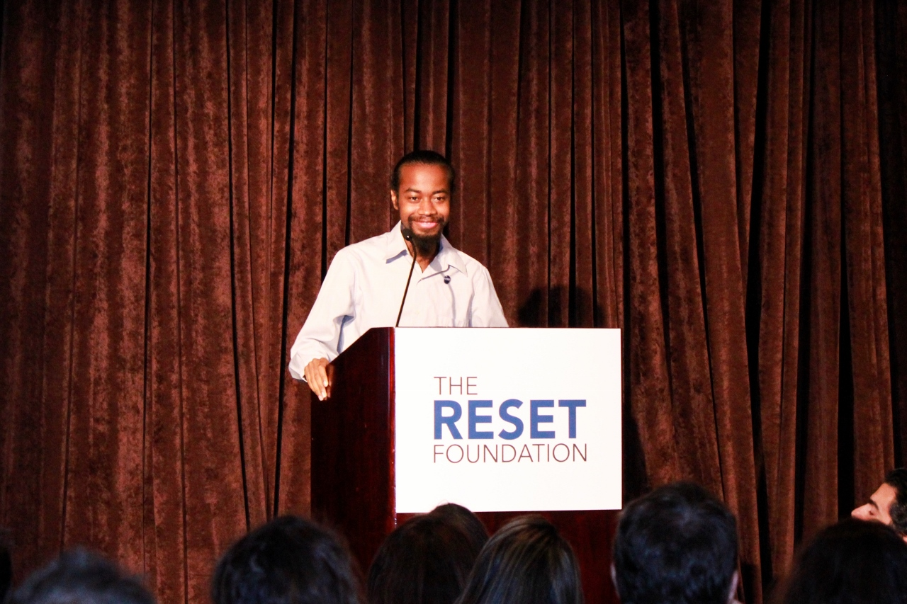 Darrell is a Reset Foundation student who shared moving words about his transformation through TRF.