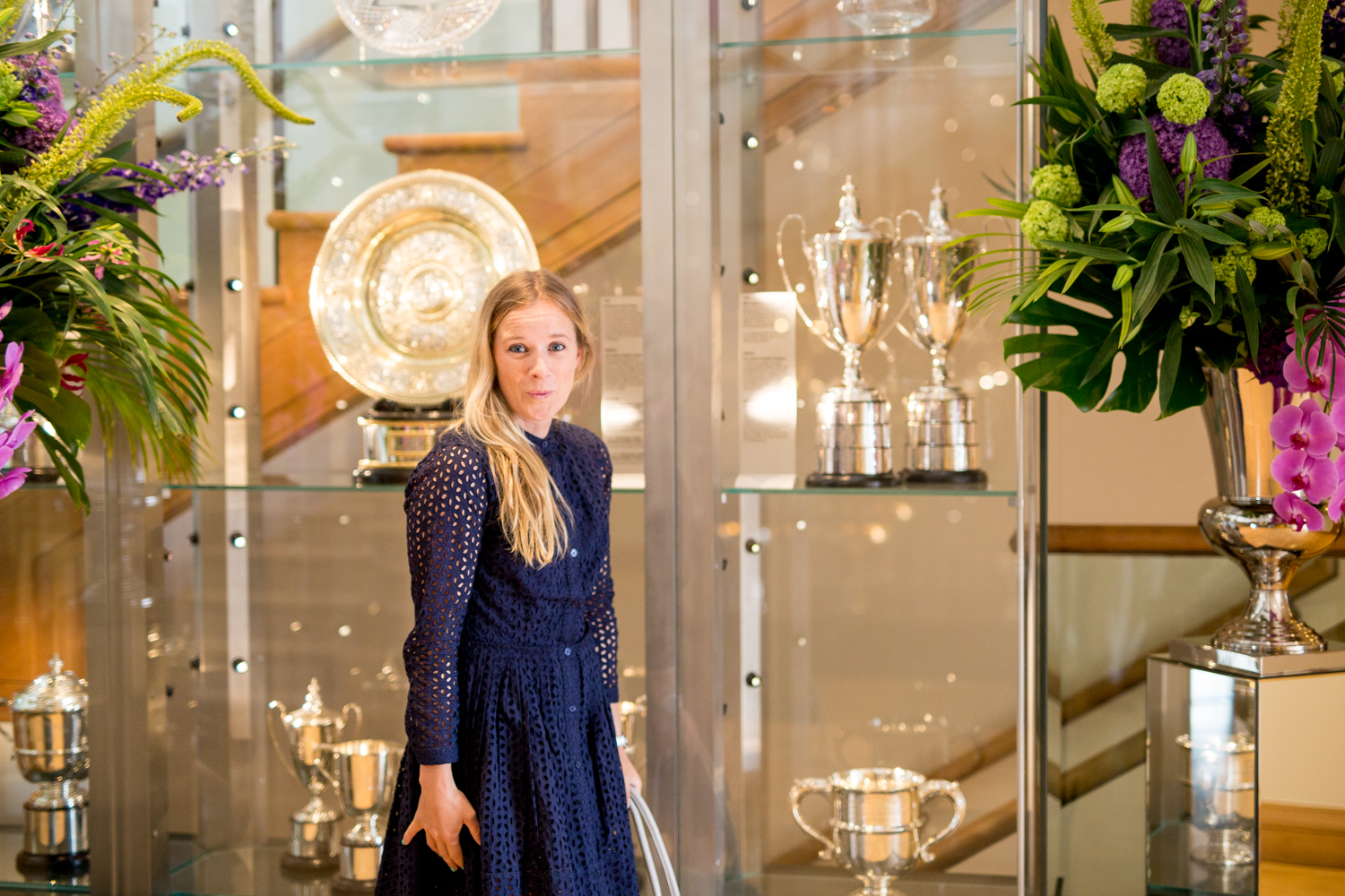 Trophy Cabinets  Wimbledon, Royal Box, Trophies, Cabinets, Tennis, Clubhouse