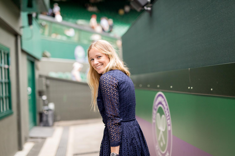 Sneaking out onto Centre Court!  Wimbledon, Royal Box, Tennis, Centre Court