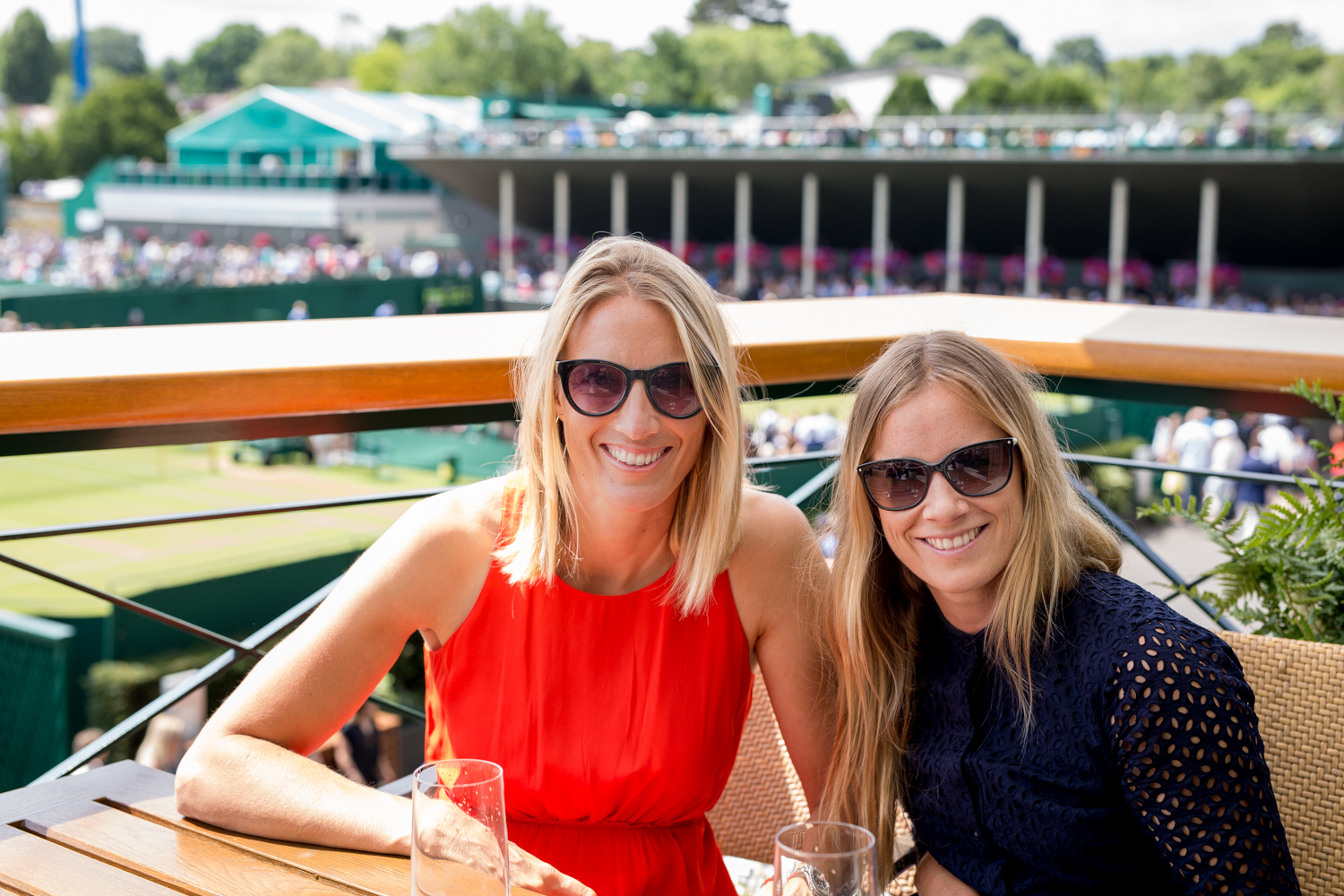 On the balcony with Sas - my sailing partner for the London and Rio Olympics  Wimbledon, Royal Box, Tennis, Royal Balcony, Courts, Clubhouse