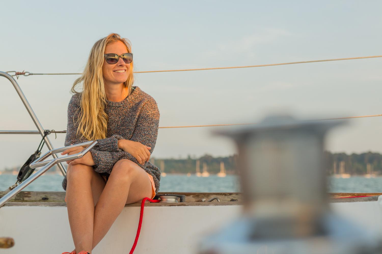 Peaceful evening cruise around Poole harbour!