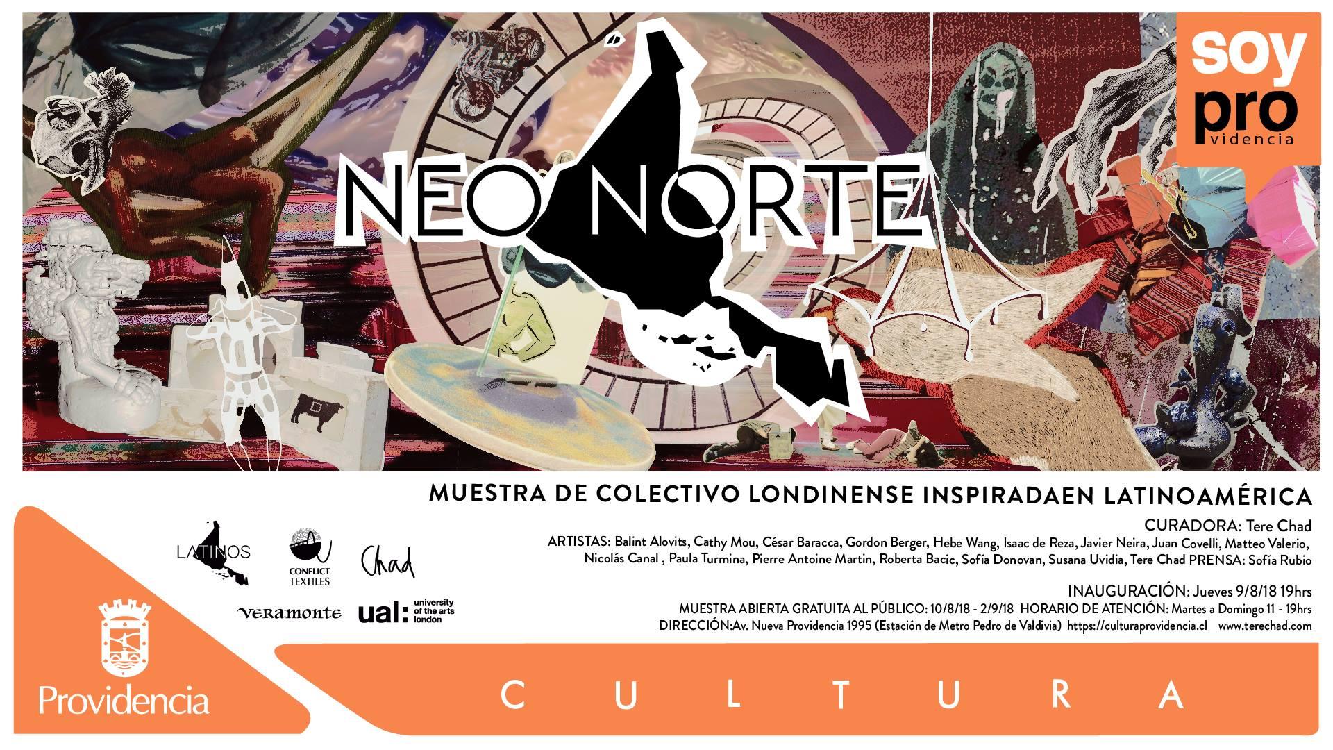 GROUP EXHIBITION   August 9th 2018 I Neo Norte I Fundación Cultural de Providencia I Santiago De Chile, Chile