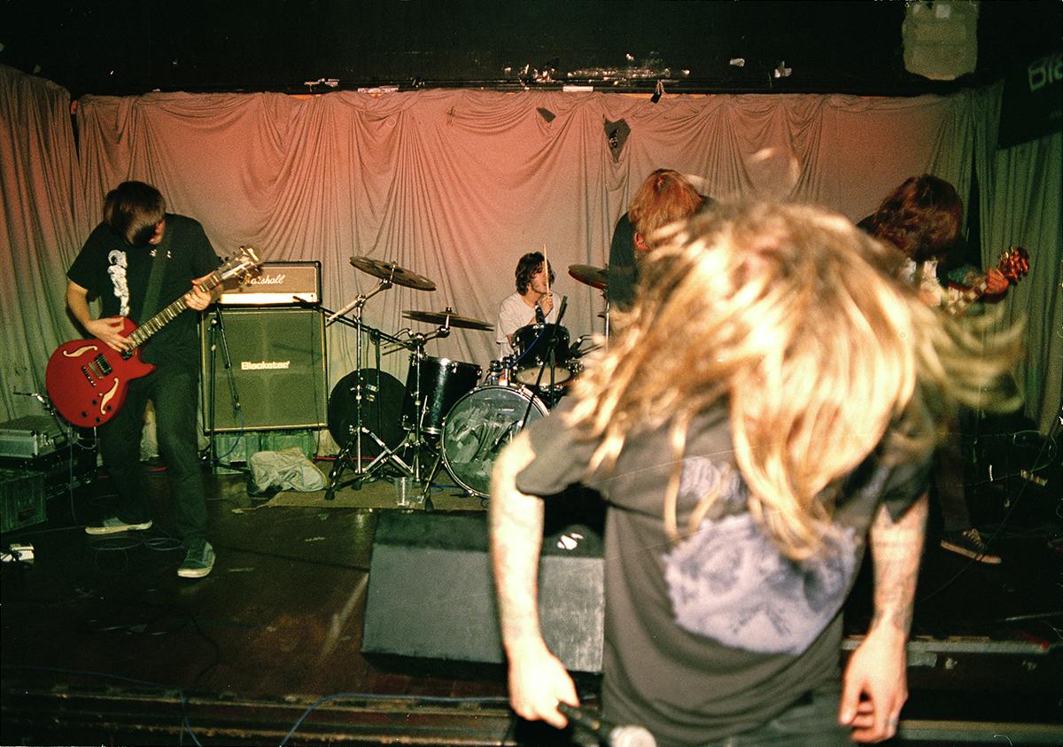 Razoreater  live at the Camden Unicorn in 2014.© Patrick H. Sampson