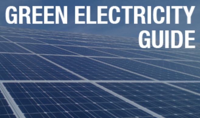 Greenpeace Electricity Guide