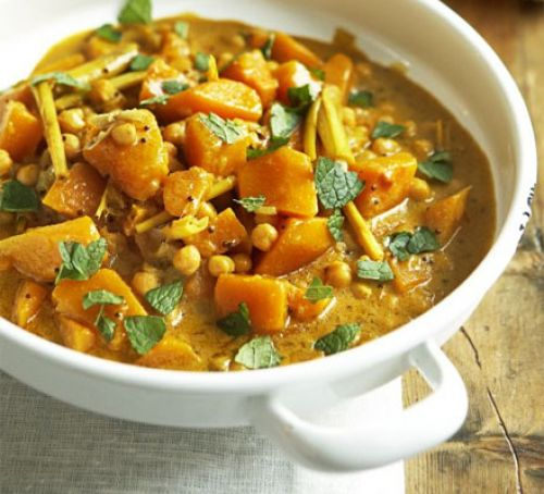 Pumpkin & Chickpea Curry