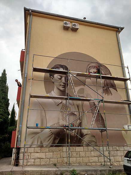 Street art in Bosnia and Herzegovina
