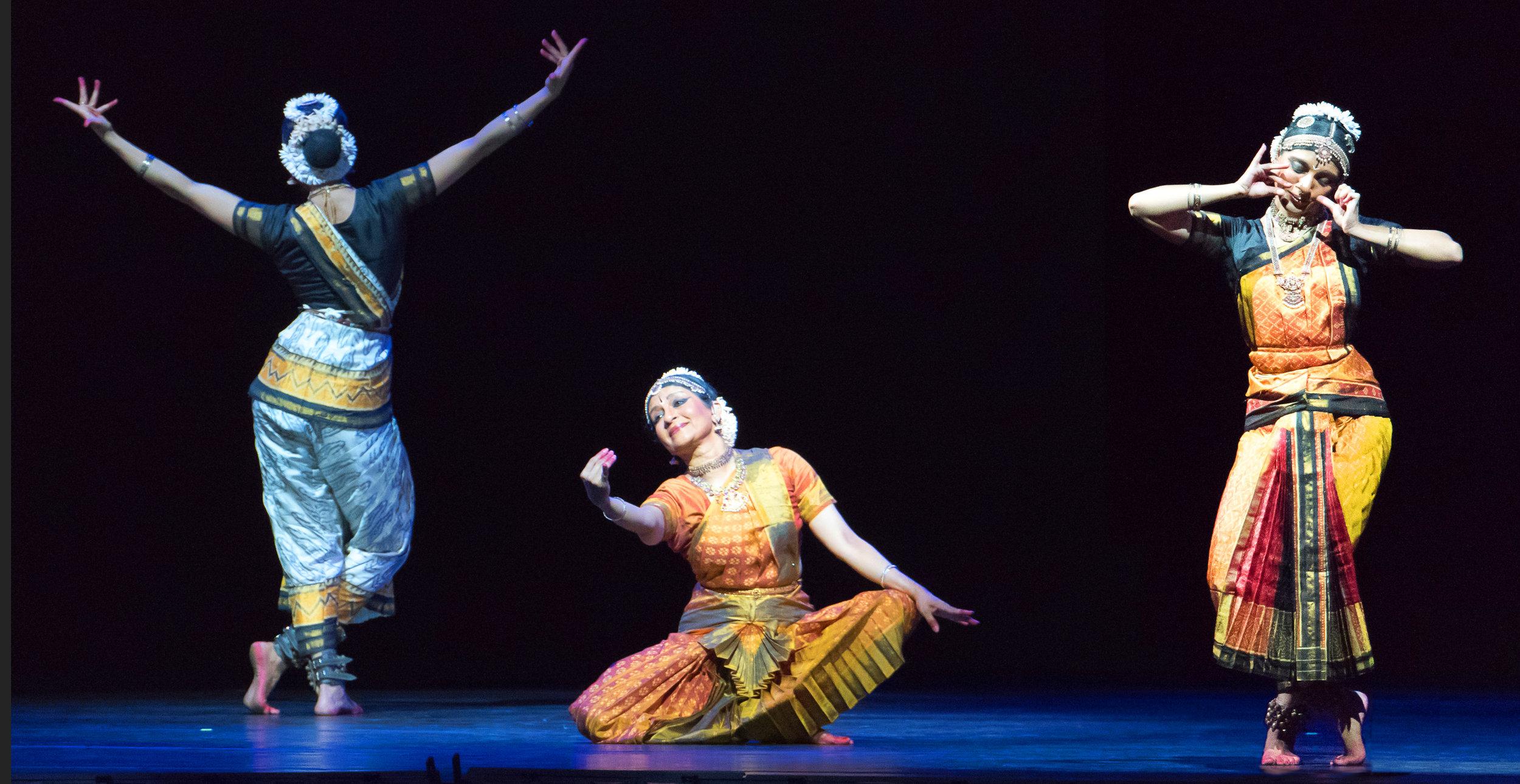 Ashwini Ramaswamy, Aparna Ramaswamy, and Ranee Ramaswamy.image by Darial Sneed