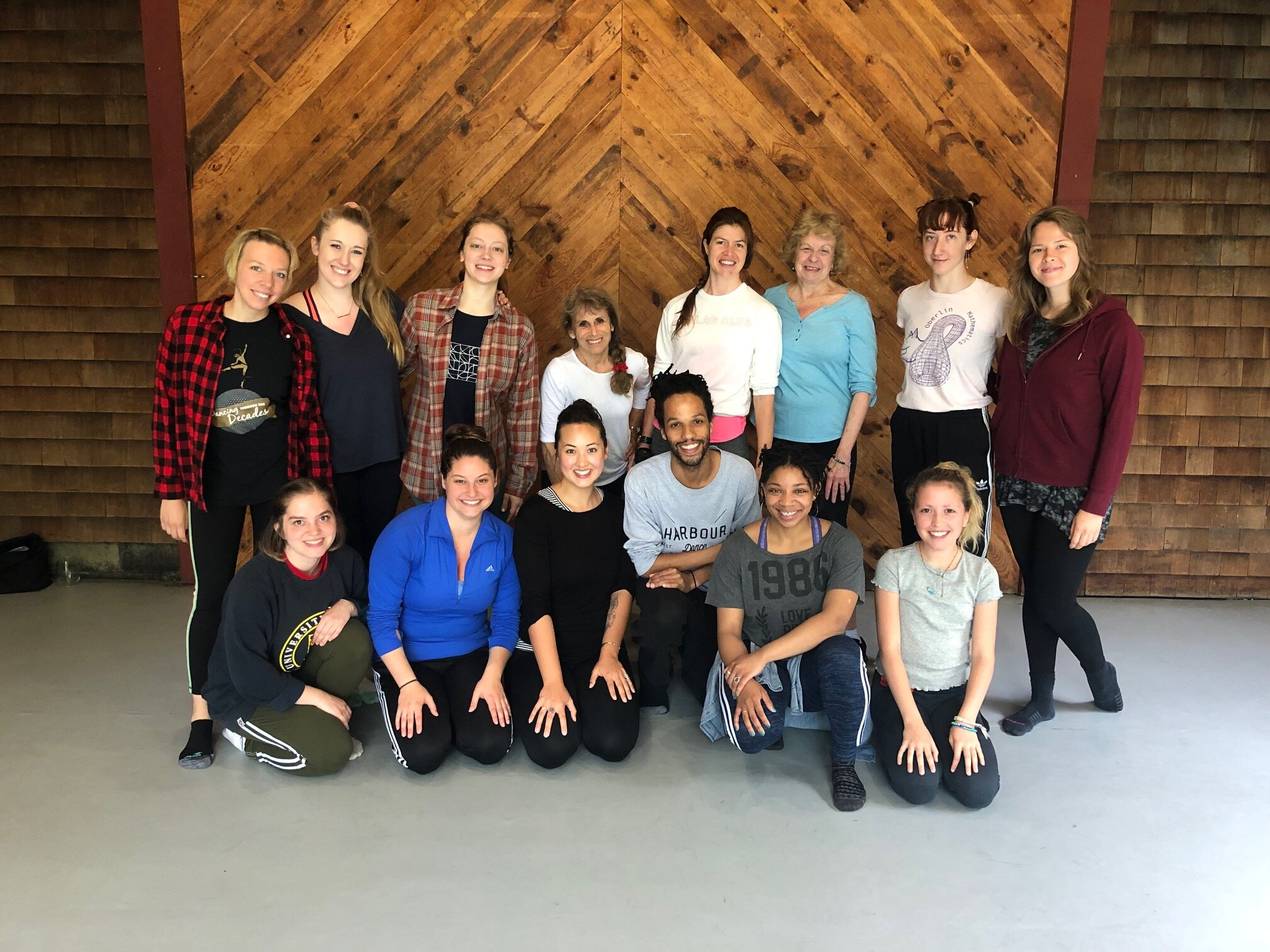2019 Staff and interns with artist Leonardo Sandoval, Photo by Mallory Butler