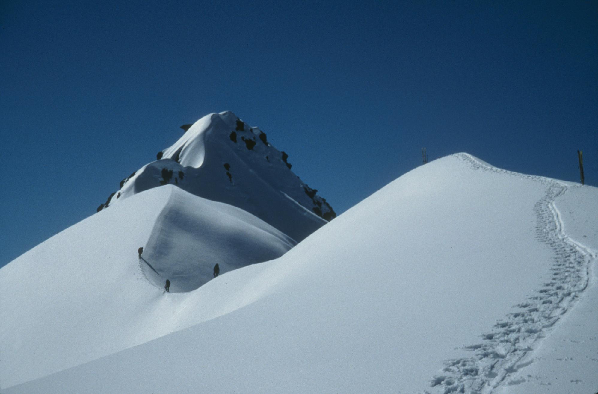 First ascent, nameless peak