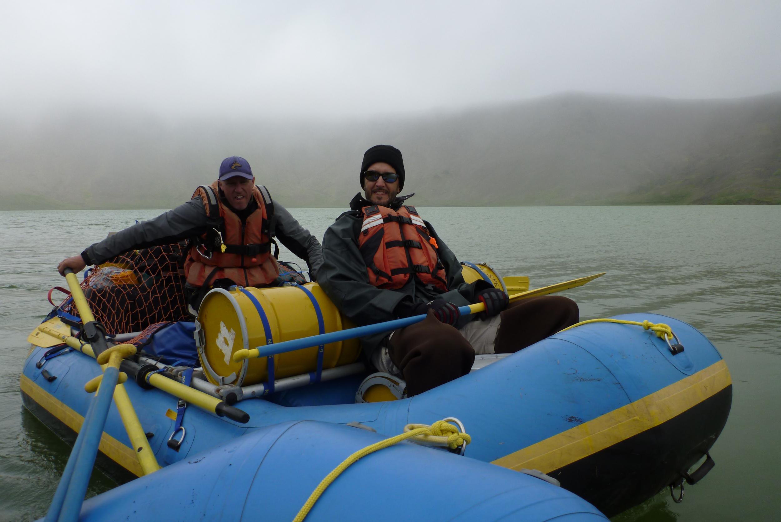 Rafting Surprise Lake