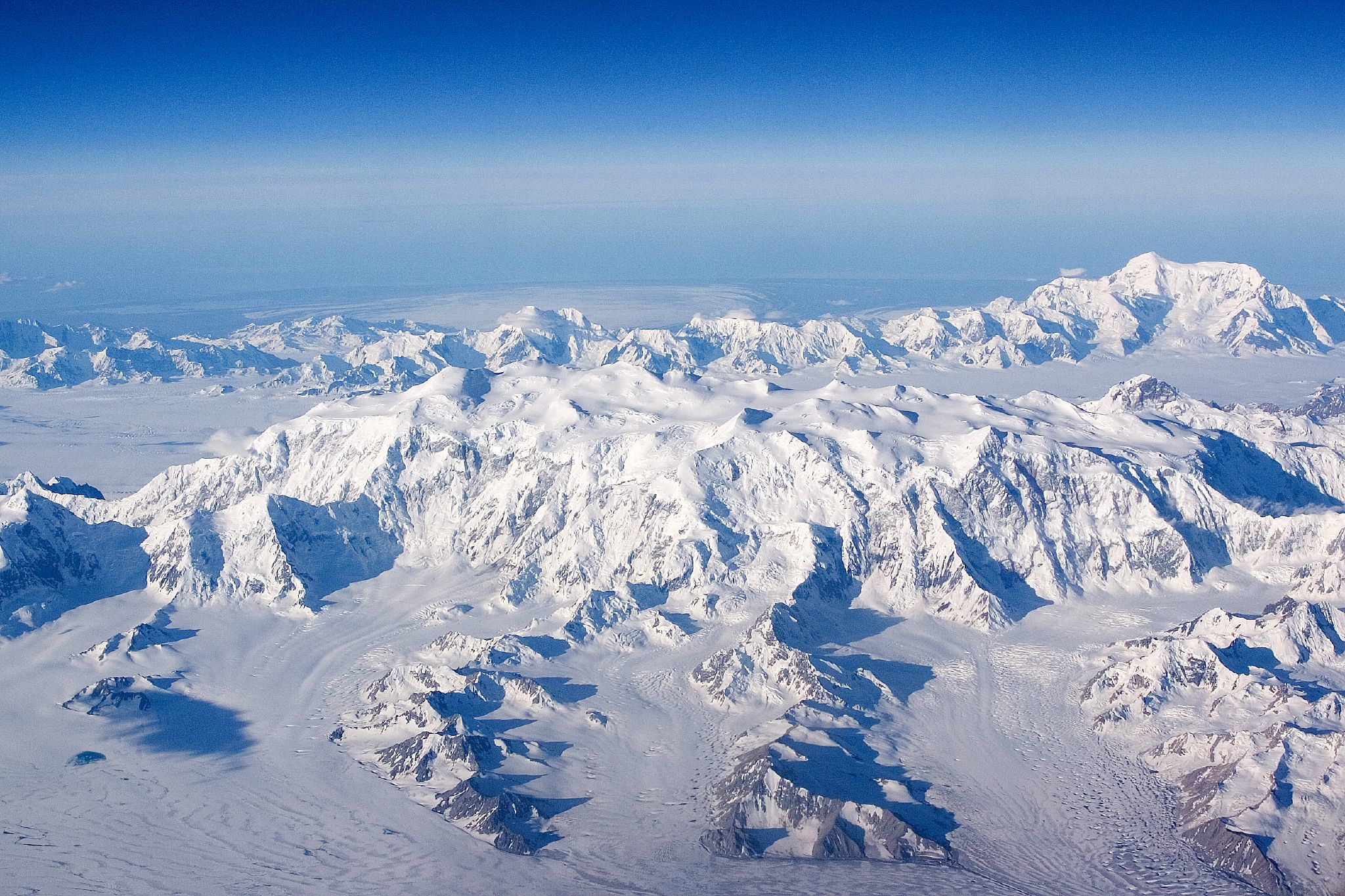 Mount St. Elias from the north