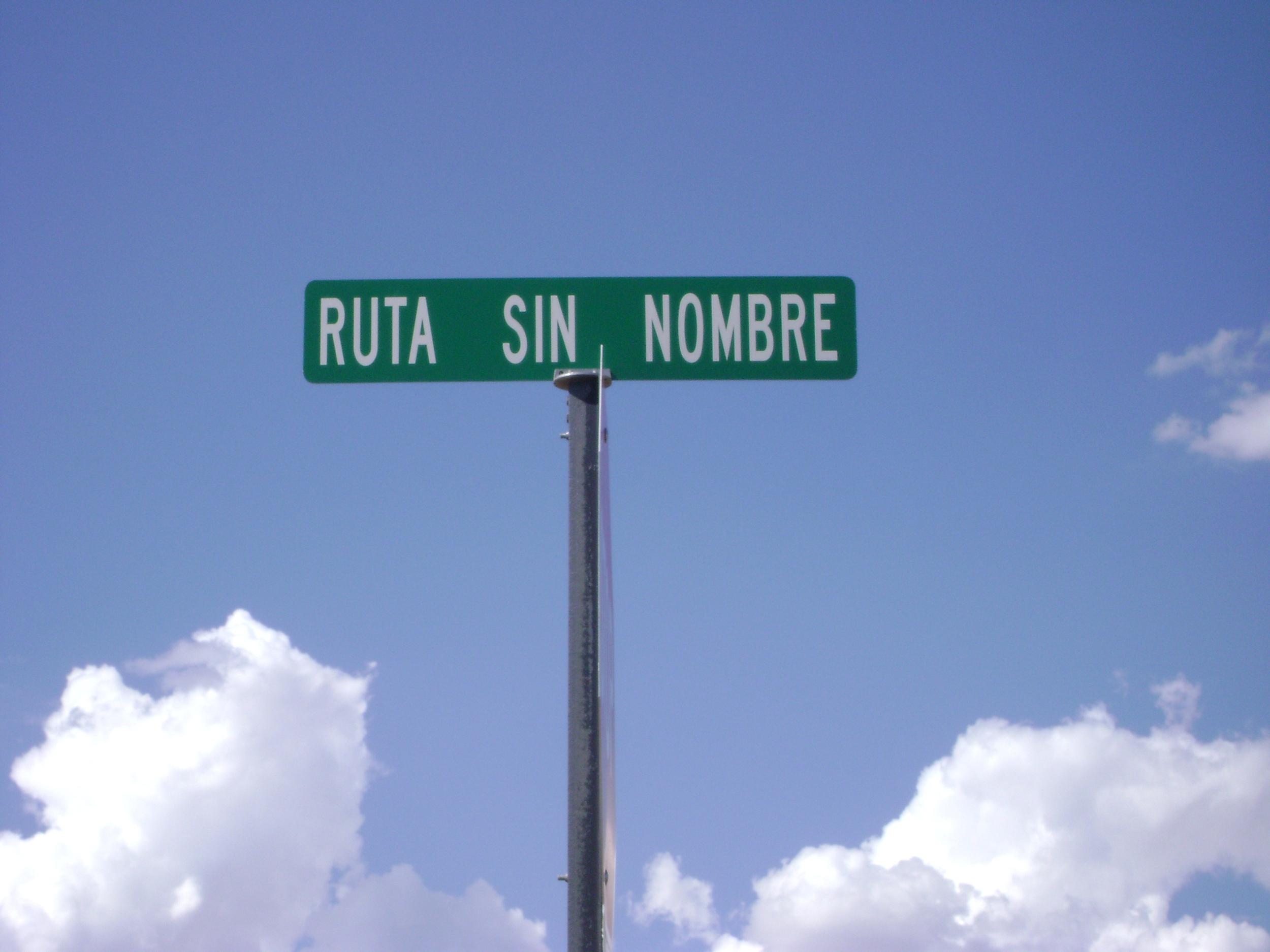 Ruta sin nombre