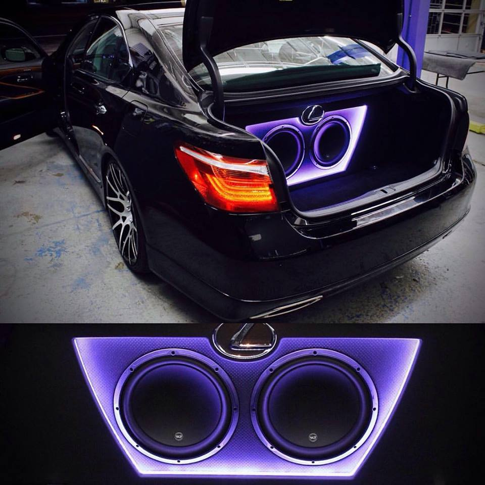 Check out the custom build on this 2010 Lexus LS460; LED enclosure.jpg