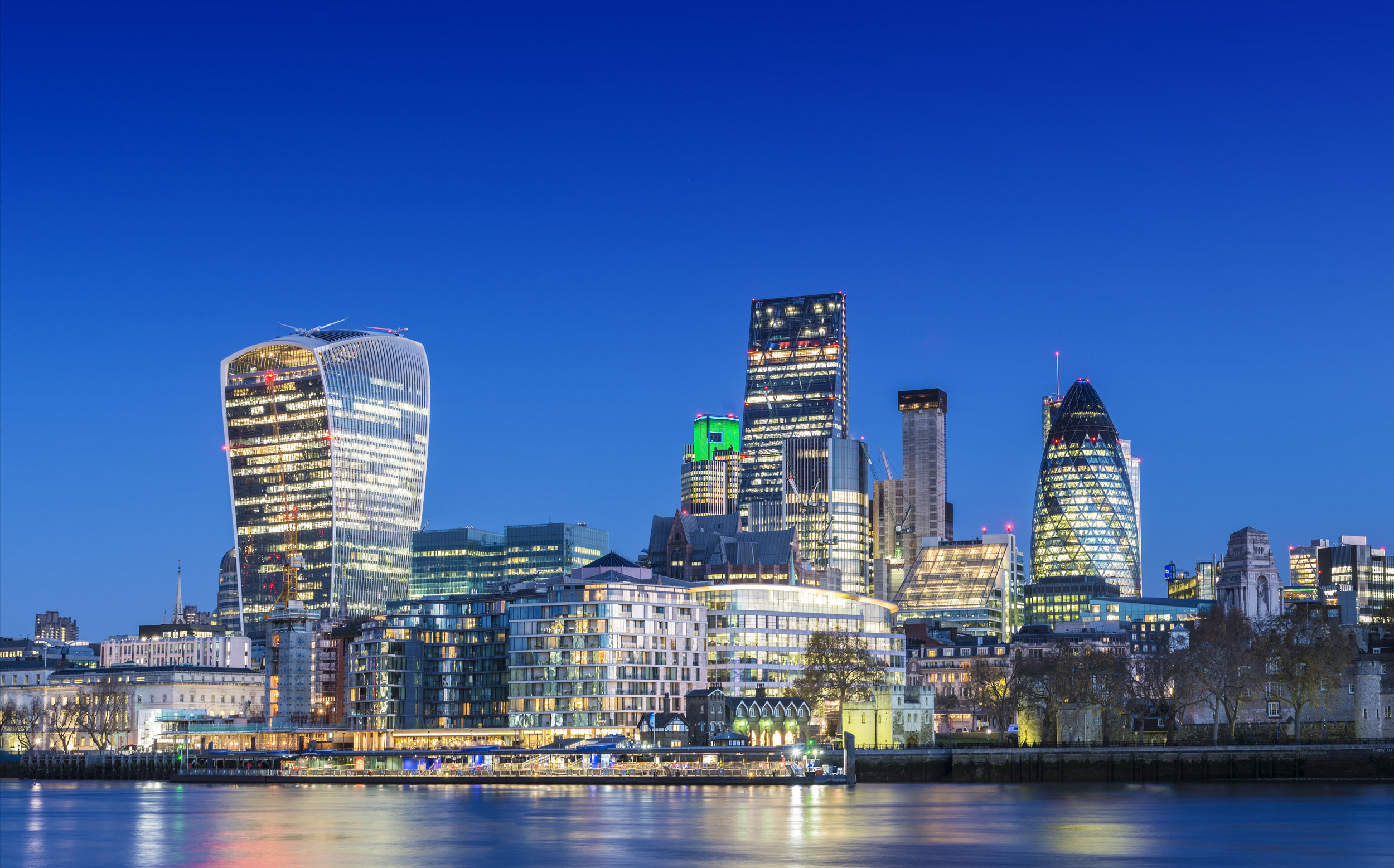 We are truly international and have offices in London