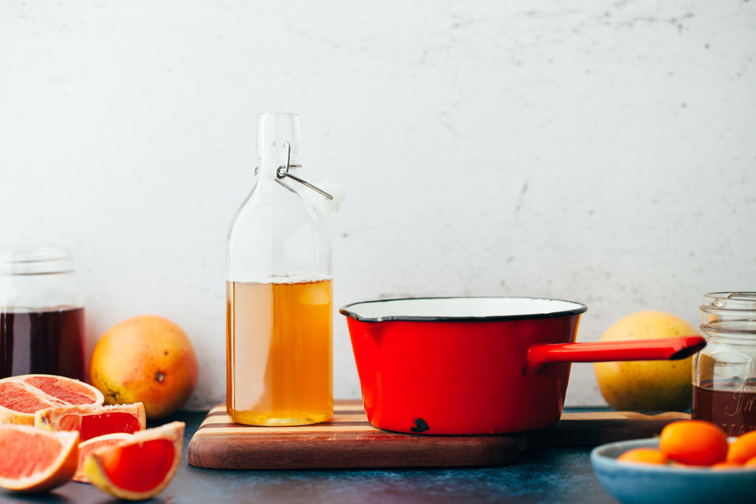 Dame's Nectar is a mocktail recipe using Earl Grey tea, honey syrup, and freshly squeezed grapefruit juice.